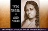 Visiting Yogananda